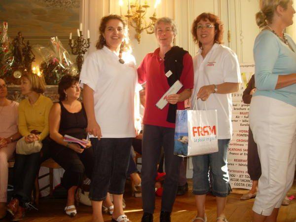 Très belle compétition qui nous à permis de remettre un chèque de 11000 € à l'association qui lutte pour vaincre la mucovicidose.