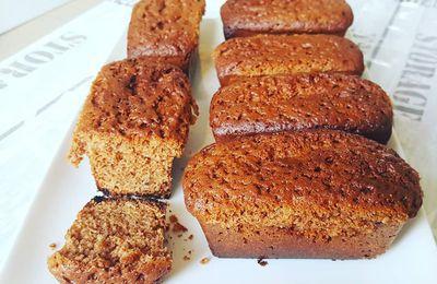 Quatre-quarts choco-noisettes au Cake Factory
