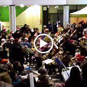 Concert de Cuivres de Noël - Cergy - Grand Centre - 2017 12 16 - © gl.phot@yahoo.fr