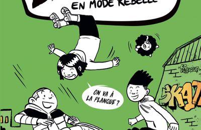 La street – 2 -  En mode rebelle. Cécile ALIX et Dimitri ZEGBORO – 2020 (Dès 9 ans)