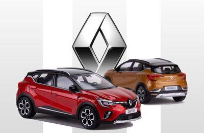 1/43 : Le Renault Captur 2 Norev disponible chez Tacot
