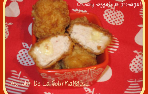 Crunchy nuggets au fromage!