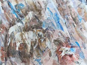 Lucienne Cywier, peintures 2011 - Animaux