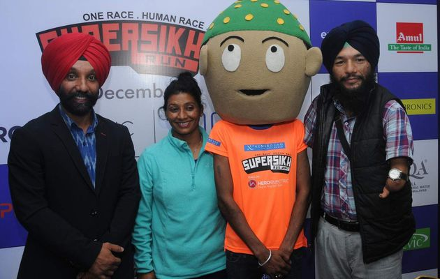 THE FAMOUS SUPER SIKH RUN BACK TO DELHI WITH A SPECIAL FOCUS ON Differently abled Athletes