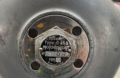 MOTEUR MOTOCONFORT C45S VENANT DU 64