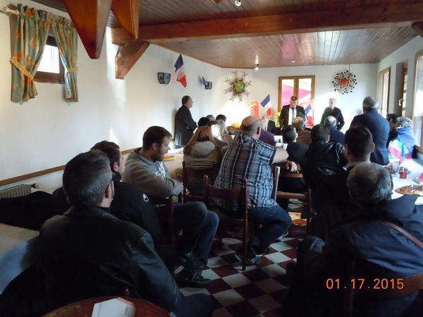 Compte-rendu de la réunion du Parti de la France dans le Puy-de-Dôme