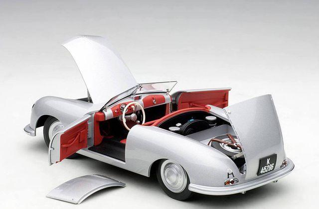1/18 : La Porsche 356 n°1 d'AutoArt est prête !