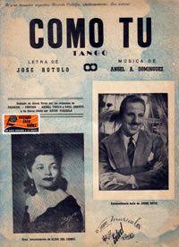 109 años del natalicio del compositor y músico del Tango, José Rótulo