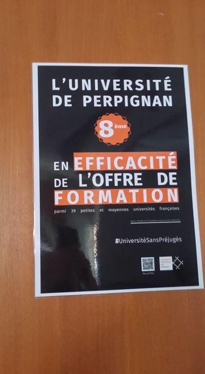 Perpignan/Université: la campagne de dénigrement n'était que le premier volet pour une campagne de promotion anti-préjugés pour l'image de la fac! interview Fabrice Lorente par Nicolas Caudeville