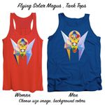 Art Panoply-Flying Solar Magus-Tank Tops