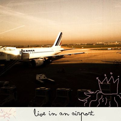 I wish I could #3 : live in an airport