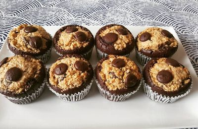 Muffins mi- brownie mi- cookie
