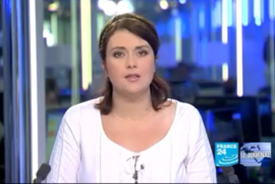 2012 01 10 @06H00 - AUDREY RACINE, FRANCE 24, LE JOURNAL