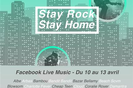 [PLAYLIST] Festival Stay Rock, Stay Home