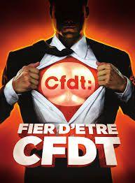 La CFDT compte 610 144 adhérentes et adhérents