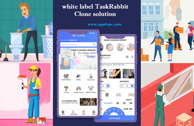 Build an exclusive all-in-one on-demand service app with the efficacious white-label TaskRabbit Clone solution
