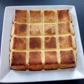 Flan pâtissier dans le moule tablette - Mes Meilleures Recettes Faciles