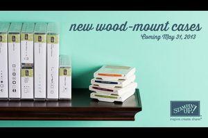 De nouveaux boîtiers de rangements pour les tampons bois !