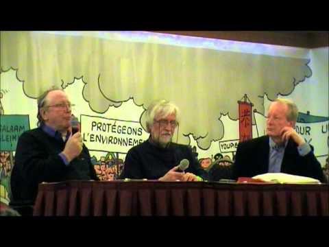 Les Amis de Hergé 2015: témoignages d'Alain Baran et de Jean-Claude Jouret