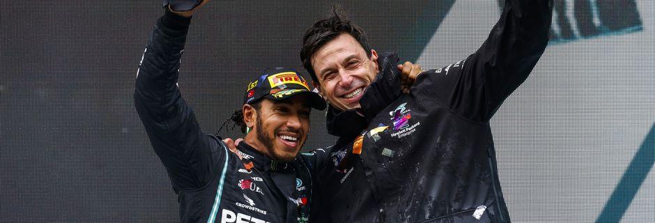 Minimum syndical pour Lewis Hamilton et Mercedes