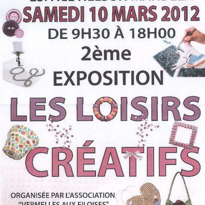 2012 Salon de loisirs créatifs de Vermelles