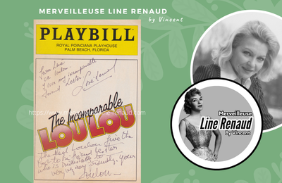 DOCUMENTS : PLAYBILL - The Incomparable Loulou - Janvier 1986 (USA)