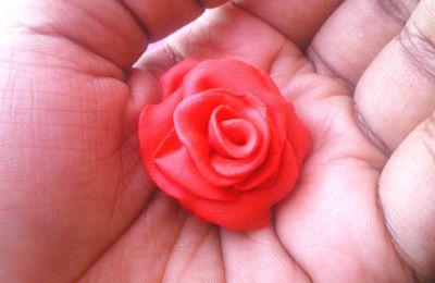 Fimo: Bague Rose