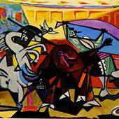 Picasso - Le Minotaure, les taureaux, la corrida. - LANKAART