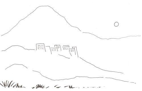 Croquis à main levée : merci à mon collègue qui a dessiné ceci à ma demande pendant la pause de midi.