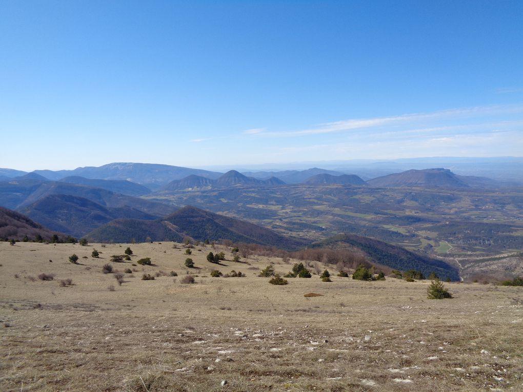 Ma randonnée de dimanche : Le Grand Delmas (1544m) ou Montagne de Couspeau par Rochefourchat