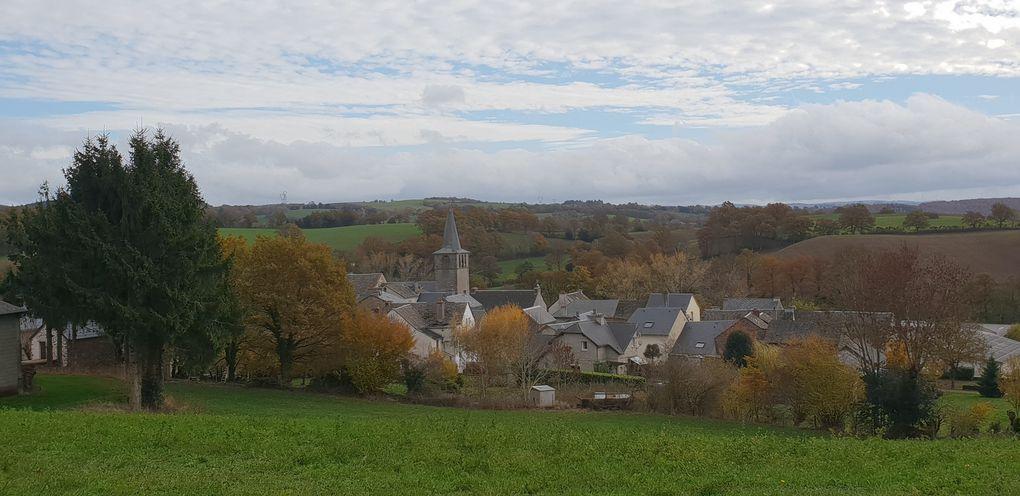 """Prades de Salars et son église """"Notre Dame du Bon Secours"""""""