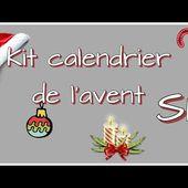 Isabel Scrap Calendrier de l'avent Noël 2018 SP #019