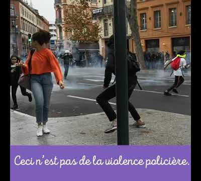 Violences policières - France - On tient !!!