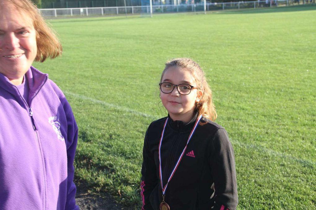 médailles 6èmes filles