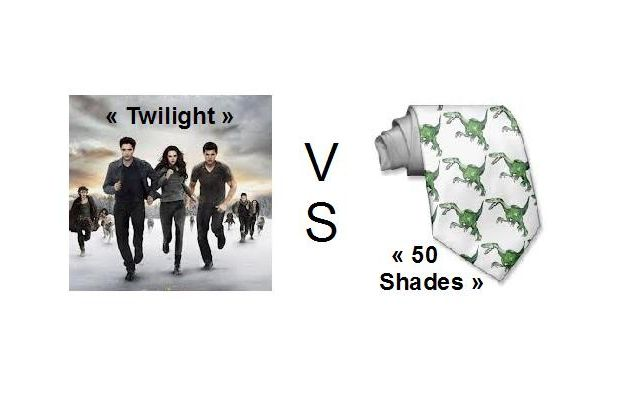 TWILIGHT vs 50 NUANCES DE GREY !
