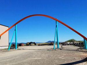 Prototype de Raptor Track sur le site de la compagnie à Hayden, en Idaho © Rocky Mountain Construction