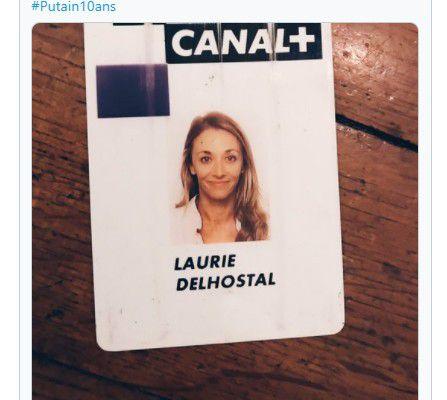 Media / TV : Laurie Delhostal quitte à son tour Canal +