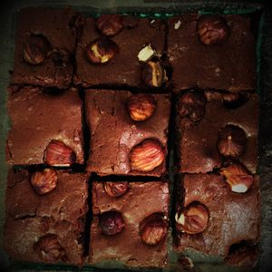 Brownie aux noisettes