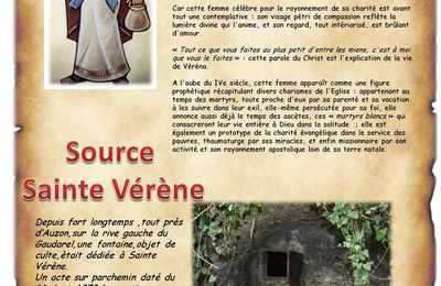 La source Sainte Vérène