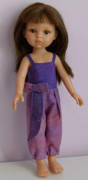 Un patron de salopette pour poupée