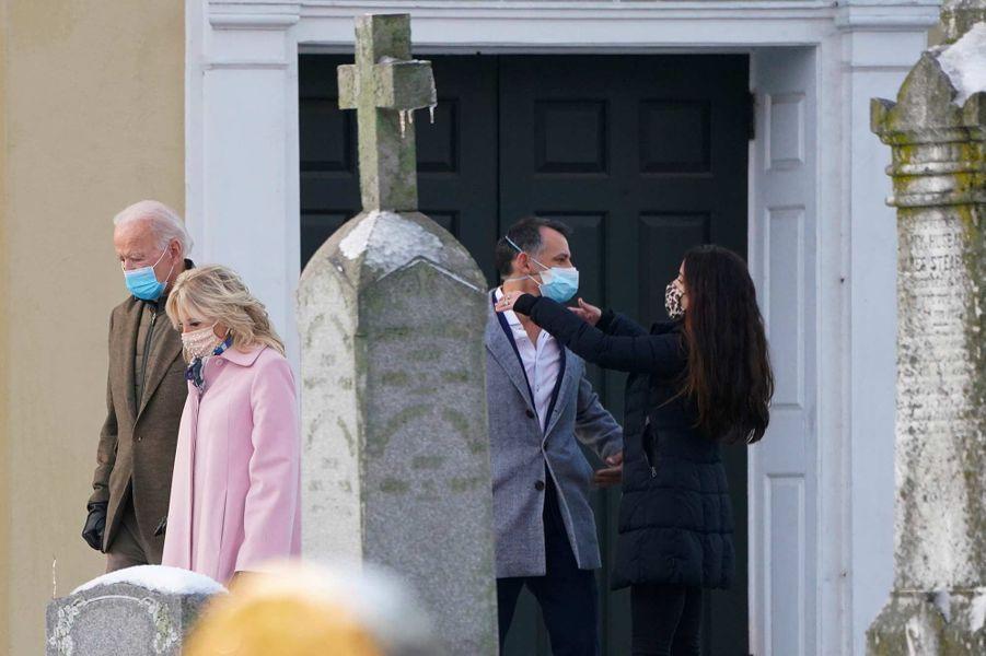 Jill et Joe Biden à Wilmington, dans le Delaware, le 18 décembre 2020. Carolyn Kaster/AP/SIPA