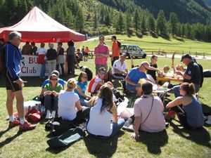 Biathlon Summer Tour à Bessans.