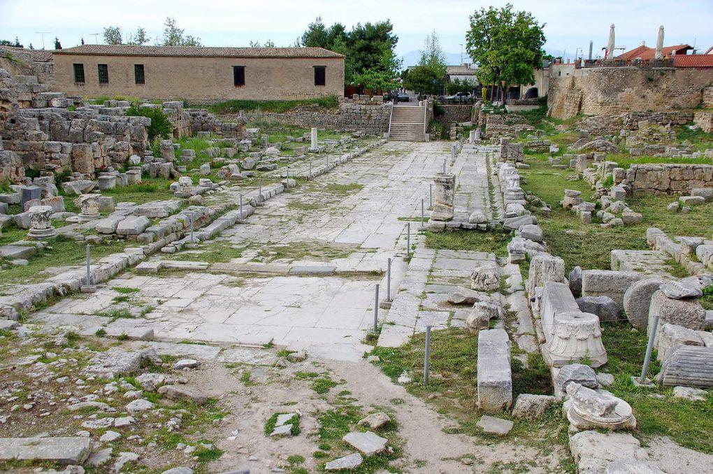 Canal et site grec de Corynthe