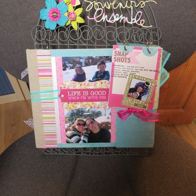 mini album: souvenirs ensemble