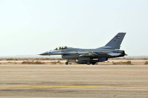 Un F-16 s'écrase en Jordanie