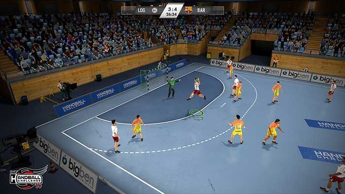 Jeux video: IHF Handball Challenge 14
