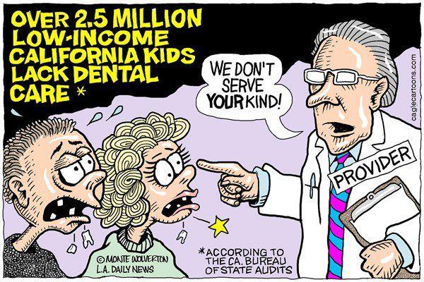 Más de 2.5 millones de niños californianos pobres no tienen acceso a salud oral