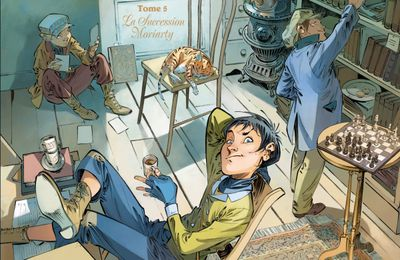 Les Quatre de Baker Street – Tome 5. Djian, Etien et Legrand. 2014 (BD)