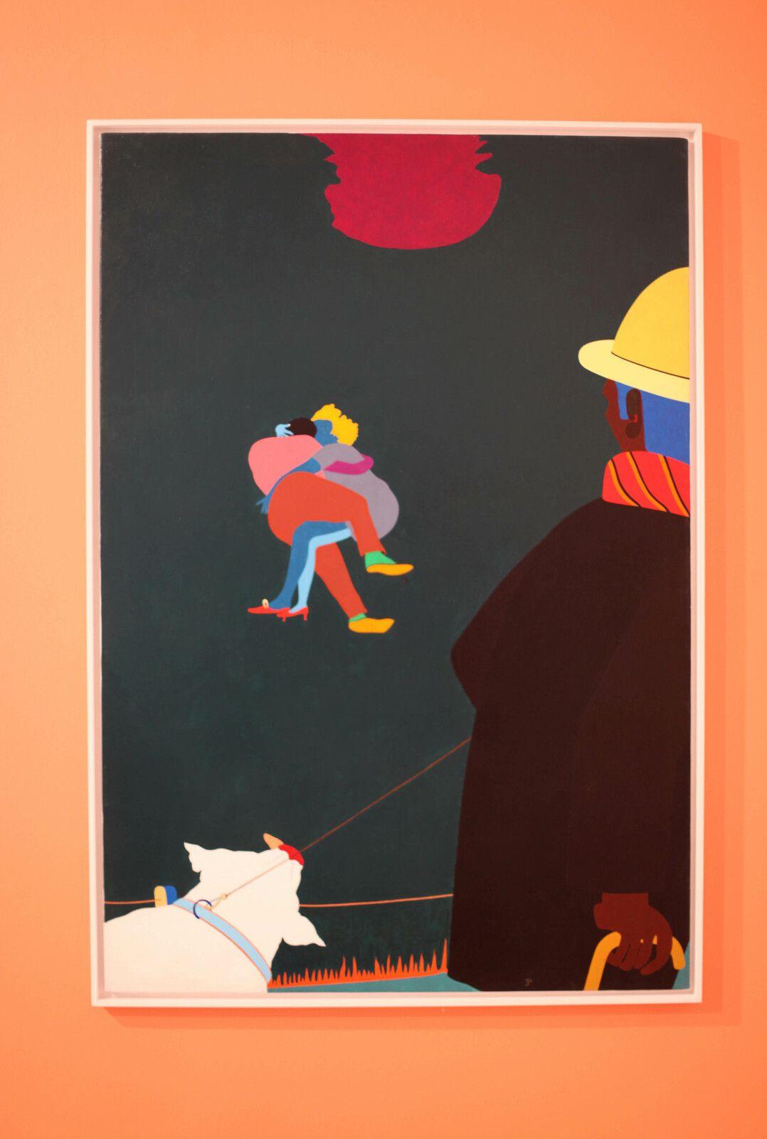 """""""Au bois de Vincennes"""", 1971 de Emanuel PROWELLER - Courtesy de la Galerie G-P & N Vallois © Photo Éric Simon"""