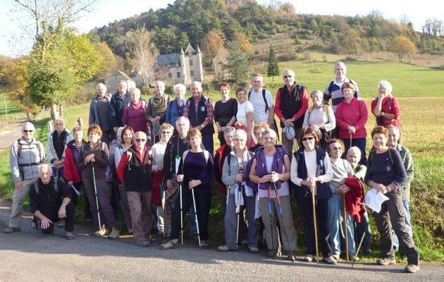 Sur le Causse de Briffoul ce jeudi 1 Décembre 2011